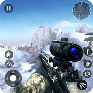 Descargar app Winter Mountain Sniper - Modern Shooter Combat