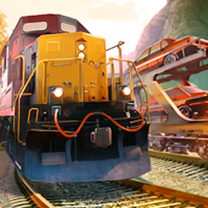 Descargar app Car Transporter Train Driver: Car Delivery Game