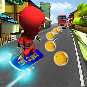 Descargar app Subway Rush Hoverboard - Jump & Run
