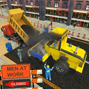 Descargar app Real Road Construction Sim: Juego City Road Builde