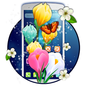 Descargar app Spring Blooming Tulip Theme
