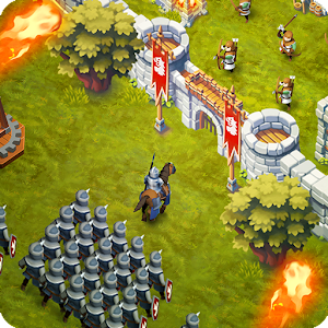 Descargar app Lords & Castles - Rts Mmo Game