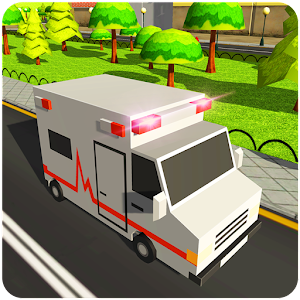 Descargar app Blocky Us Fire Truck & Army Ambulance Rescue Game