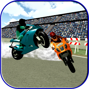 Descargar app Motorway Bike Hurdle Racing: Medalla De Oro Podium