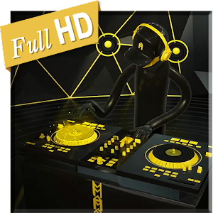 Descargar app Yellow Black Dj Music Live Wp