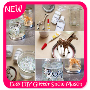 Descargar app Easy Diy Glitter Snow Mason Jar