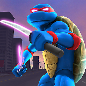 Descargar app Shadow Turtle Warrior: Flying Ninja In Star City