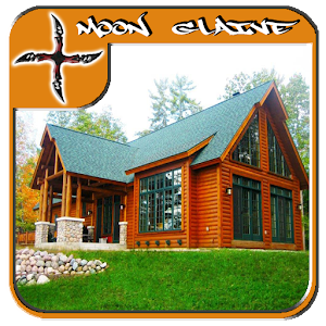 Descargar app Luxury Log Home Plan De Diseño