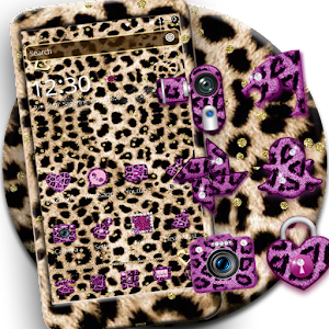 Descargar app Oro Leopard Guepardo Tema disponible para descarga
